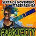 Sexta-feira dia 03 de novembro tem Fabricity no Bar de Osvaldo em Itaberaba