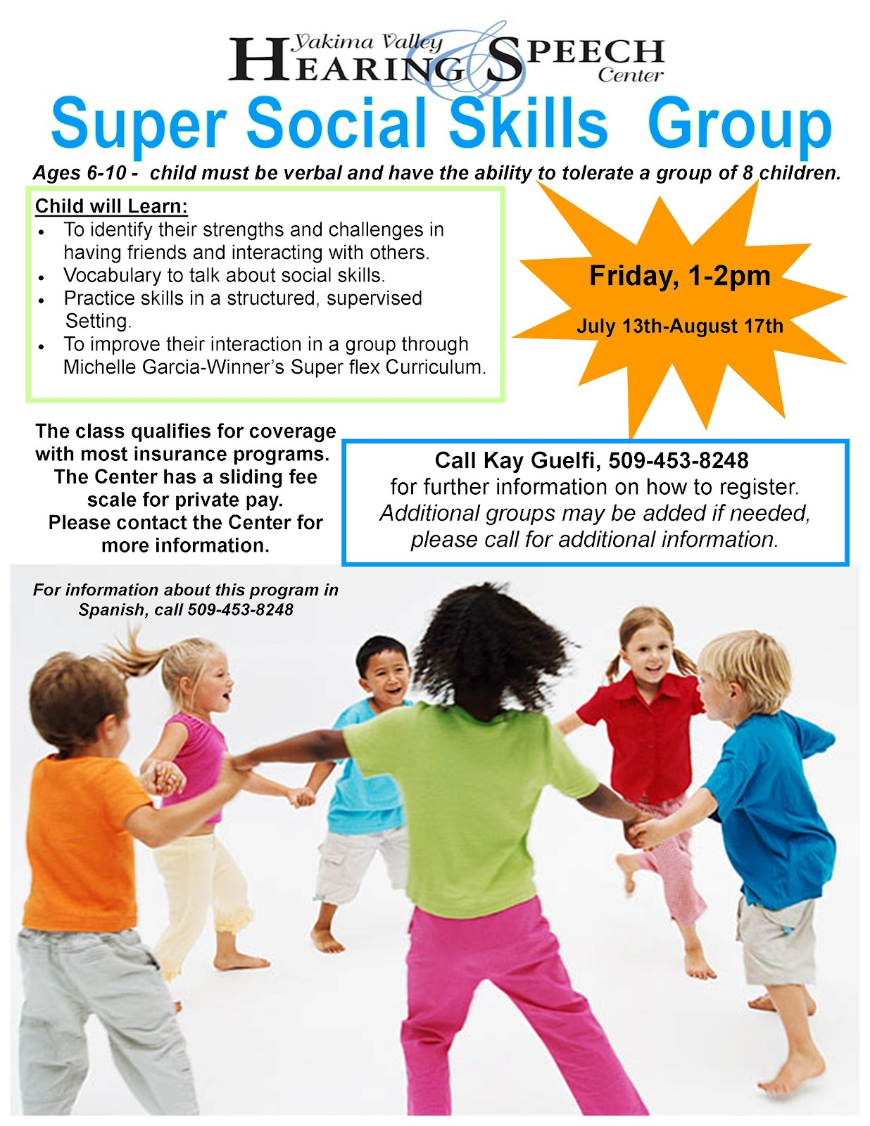Systems Of Care Yakima Super Social Skills Group At