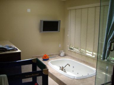 TV Installation in the Bathroom  solderblogs
