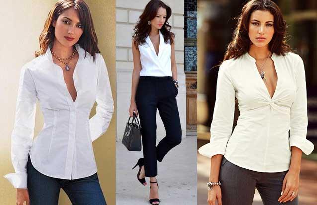 Blusas de moda para la oficina