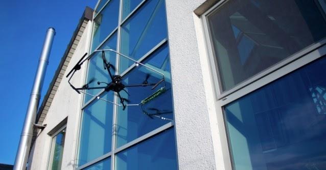Robinson solutions professional window cleaning drones - Exterior window cleaning solution ...