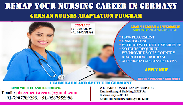 REMAP YOUR NURSING CAREER IN GERMANY - APPLY NOW