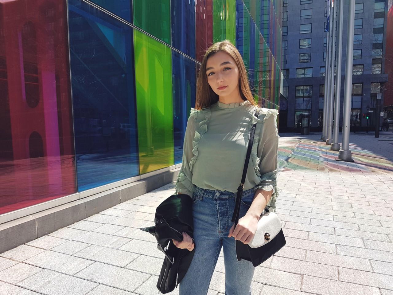 Montreal, H&M, Denim, Spring Style