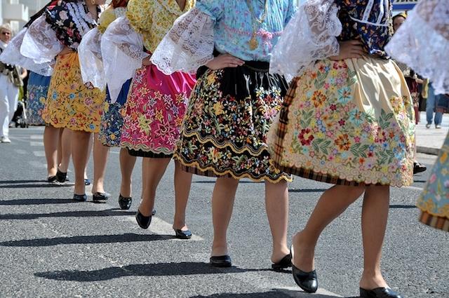 Mulheres Nazarenas com as sete saias