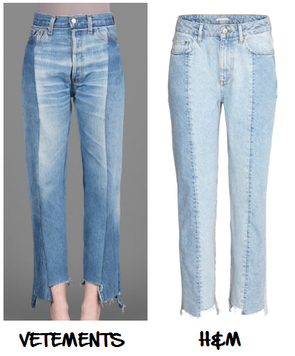 Clon Jeans Vetements H&M