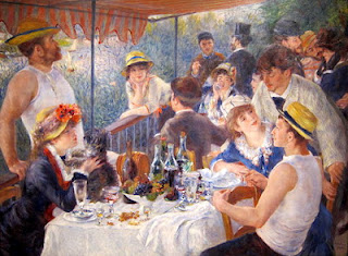 Luncheon of the Boating Party, de Renoir