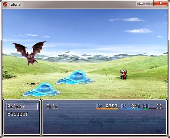 Rpg Maker Vx Ace Sistema De Batalla Lateral Programa Videojuegos