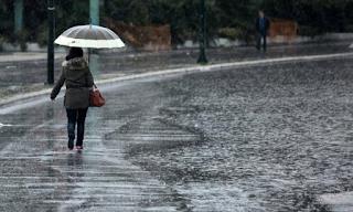 Ξαφνική επιδείνωση του καιρού με ισχυρές βροχές και καταιγίδες