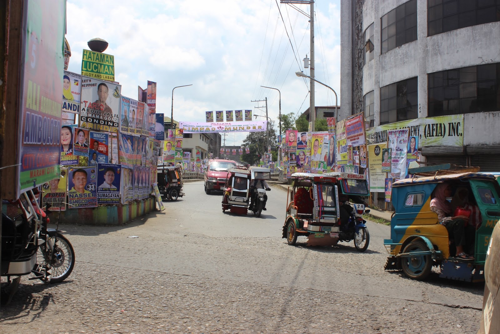Campaign Posters in Marawi