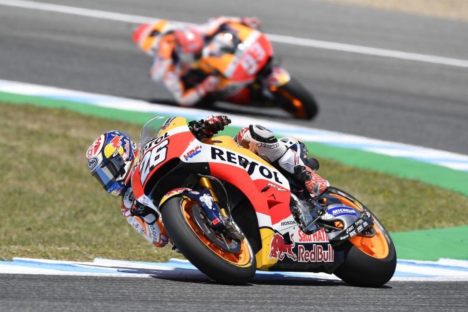 4ος Γύρος Ισπανικό Grand Prix: Ιστορική νίκη στη Jerez για τον 'ασταμάτητο' Pedrosa  2ος ο Marquez στο βάθρο και 1-2 για τη Repsol Honda