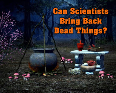 Scientists are tinkering with the idea of using DNA to bring back extinct things from the dead.
