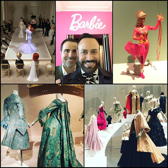 "EUROPE.....Museum Visits Recap Part Two: Les Arts Decoratifs Museum ""Fashion Forward: 3 Centuries of Fashion"" and ""Barbie"" Exhibitions!"