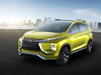 Debut Mitsubishi XM Concept Crossover MPV di GAIKINDO Indonesia International Auto Show 2016