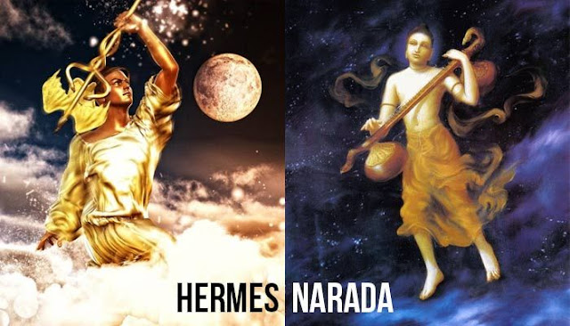 Hermes and Narada