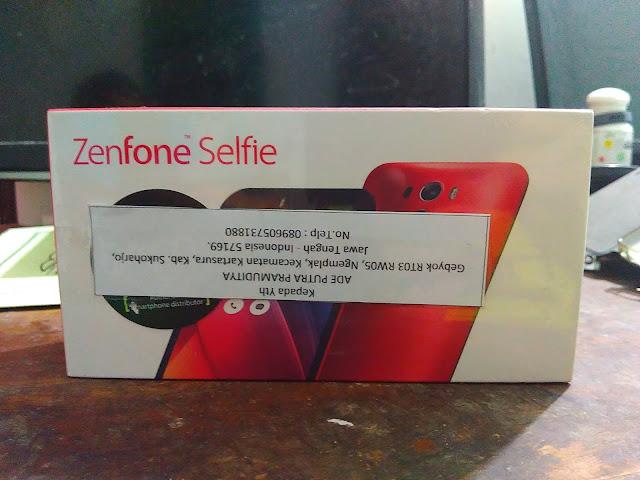 Terima Kasih Asus Indonesia atas Hadiah Asus Zenfone Selfie ZD551KL
