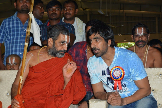Actor Ravi Teja at 10th anniversary celebrations of Netra Vaidyalaya school
