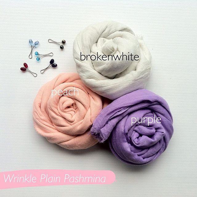 Wrinkle Plain Pashmina