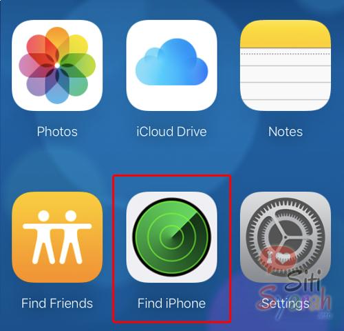mengunci iPhone dari jarak jauh