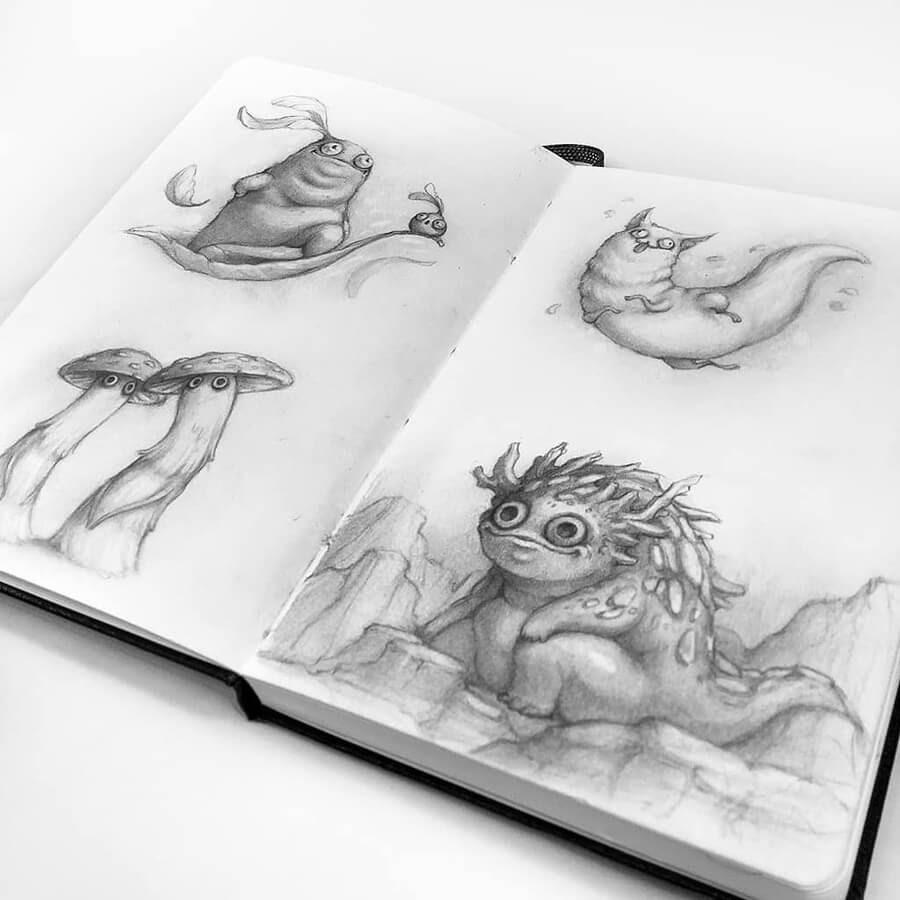08-Drawings-of-Creatures-Stella-Bialek-www-designstack-co