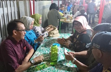 Kuliner Malam Menggeliat, DPRD Apresiasi Dinas Perdagangan Kota Padang
