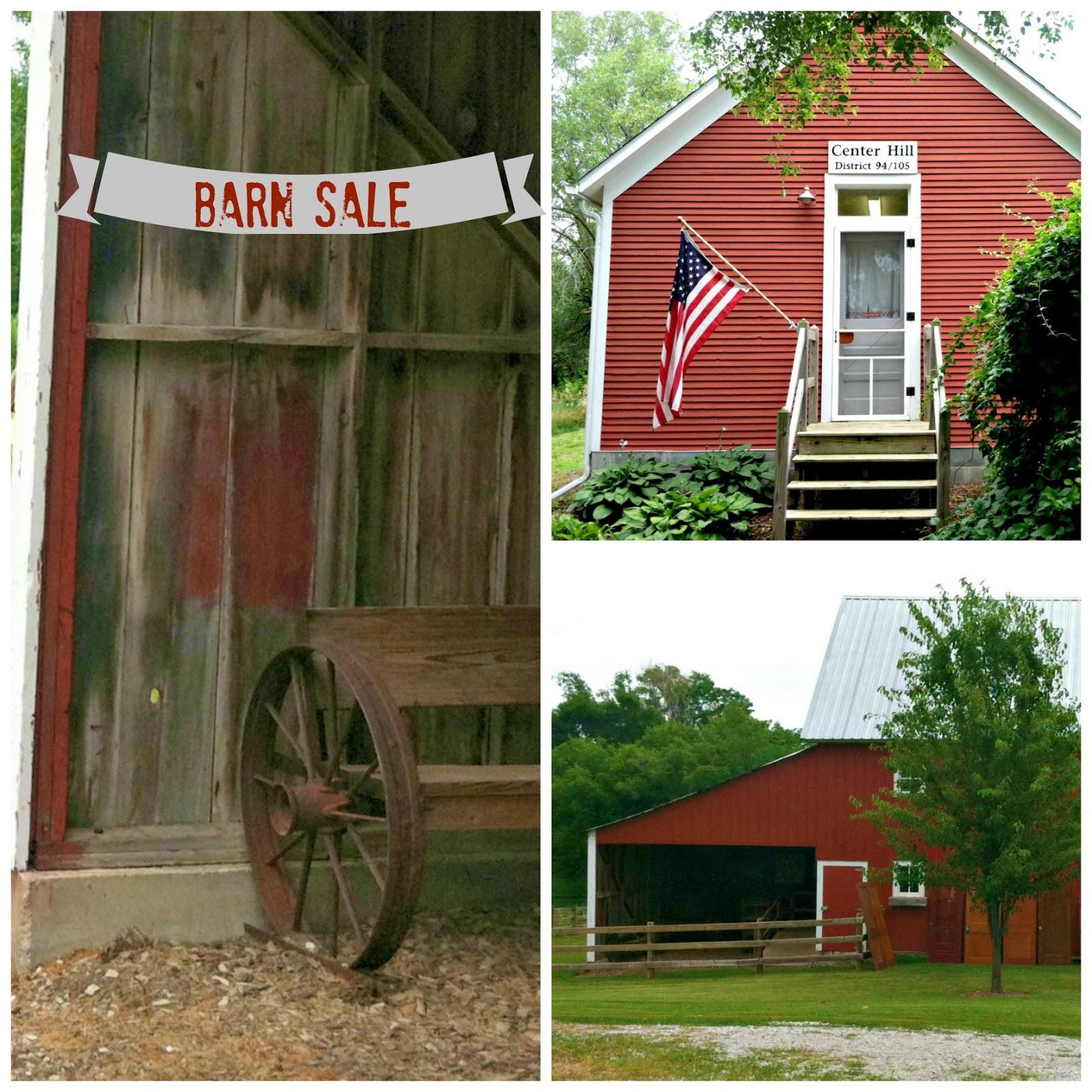 Moonbeams & Fireflies: Awash In Memories--A Barn Sale
