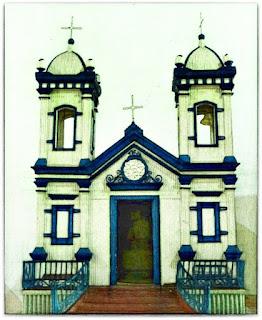 Maquete da Igreja Matriz Bom Jesus do Triunfo (RS)