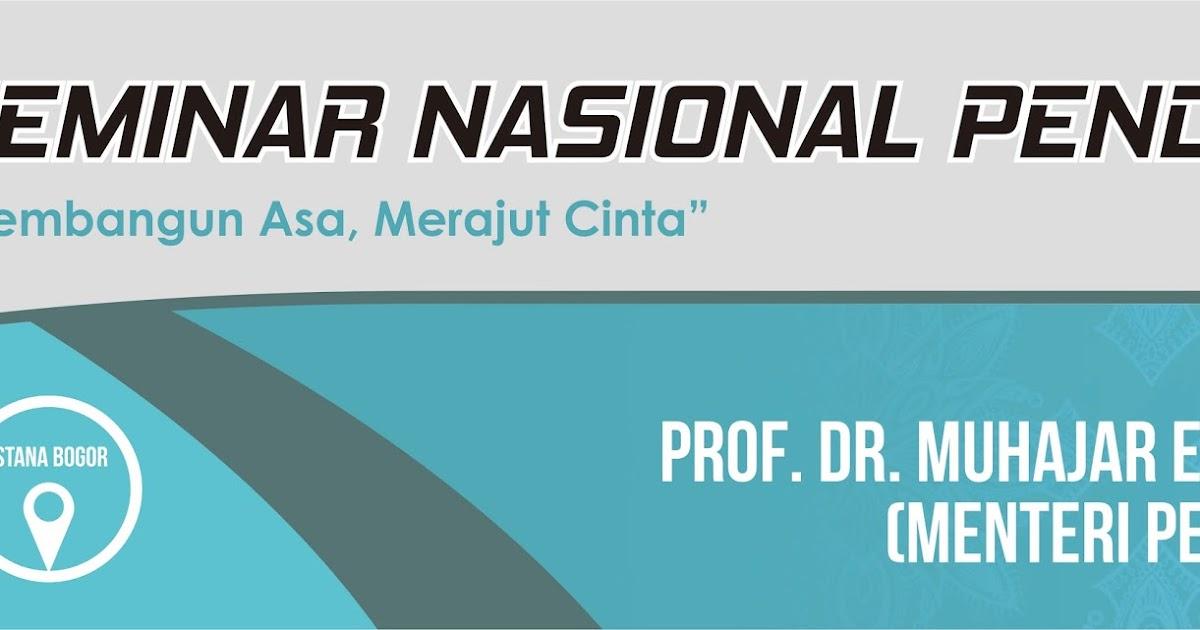Download Template Spanduk Seminar Nasional Pendidikan ...