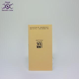 Tarot de Marseille (Heron) - Booklet (back, upside down)