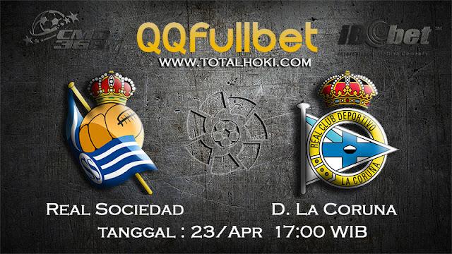 PREDIKSIBOLA - PREDIKSI TARUHAN REAL SOCIEDAD VS D.LA CORUNA 23 APRIL 2017 (LA LIGA SPANYOL)
