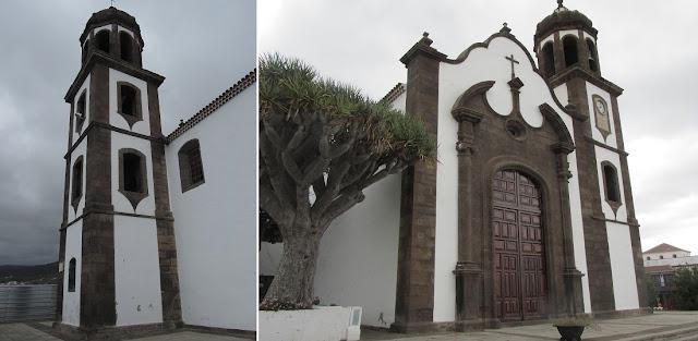 Mar a Cumbre - Iglesia de San Juan Bautista en Villa de Arico - PR-TF-86 - Tenerife - Islas Canarias