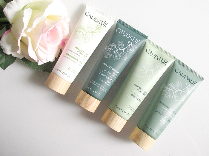 Review: CAUDALIE Masken - Moisturizing, Purifying, Glycolic Peel, Instant Detox - 75ml - je 22.70 Euro