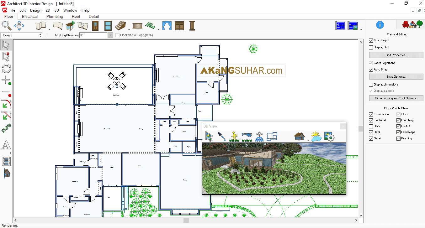 Download Architect 3D Iterior Decoration 2017 Full Activation code