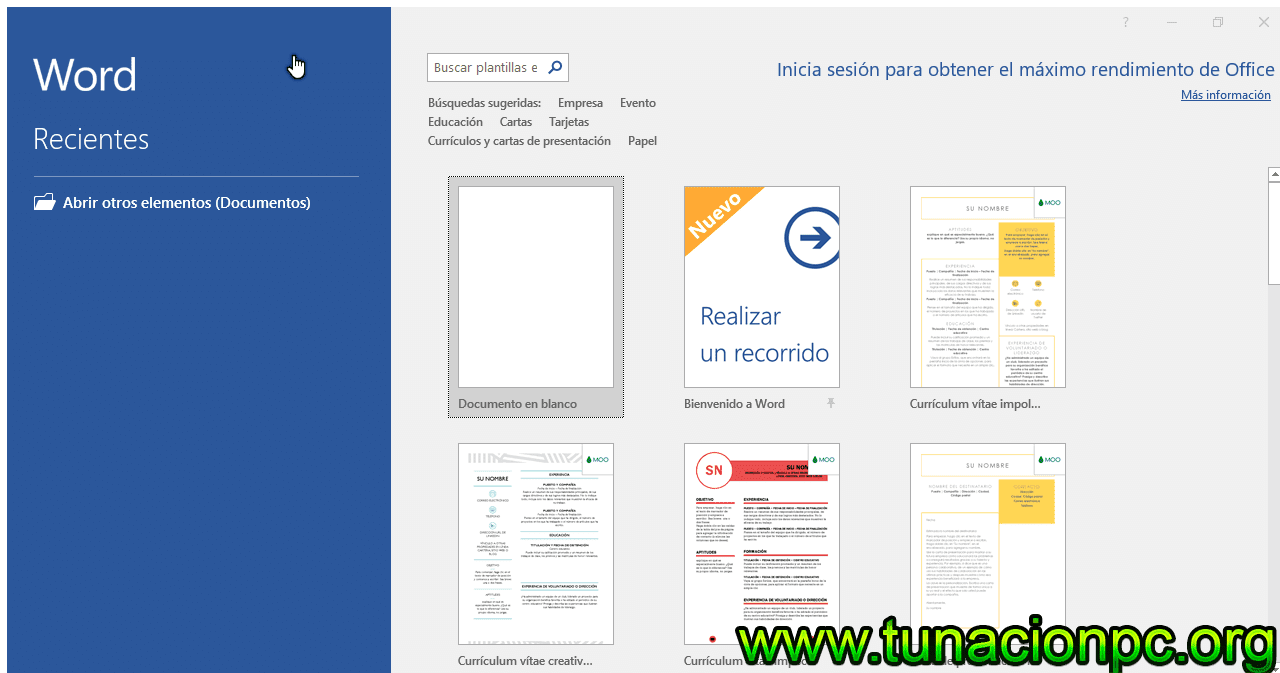 Descargar Office Professional Plus 2019