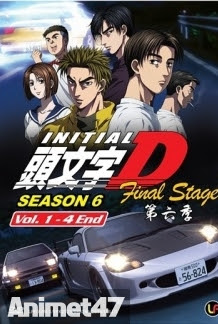 Initial D Final Stage - Anime Initial D Final Stage SS6 2014 Poster
