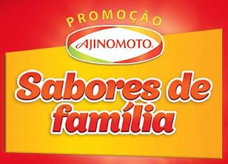 Cadastrar Promoção Sabores de Família Ajinomoto 2017