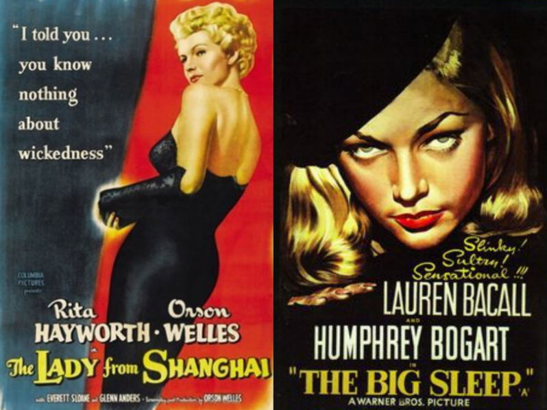 The Big Sleep movie costumes