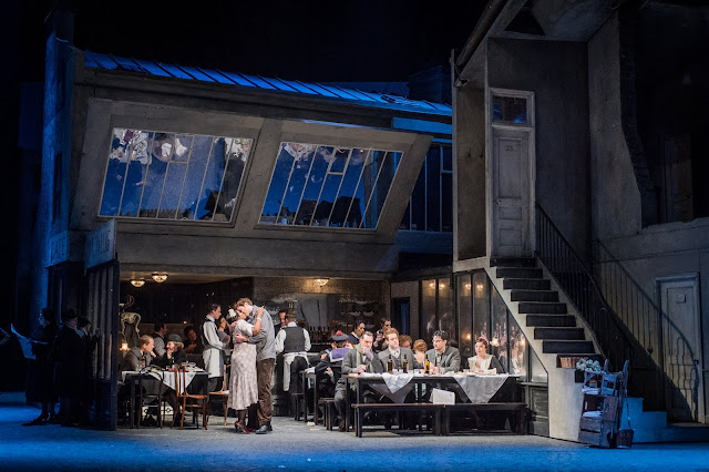 Puccini: La bohème - English National Opera (Photo Robert Workman)