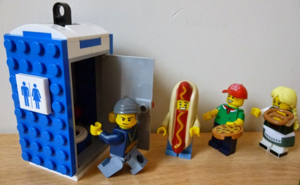 Richard Gottfried's gluten free life. In LEGO form