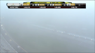 Rolex 24 hours of Daytona Fog