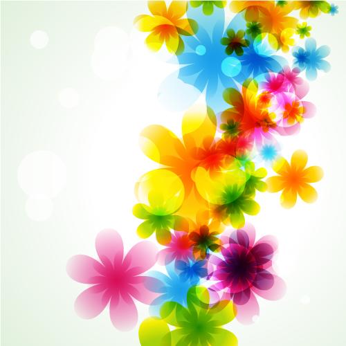 Fondos primaverales 2 - Vector