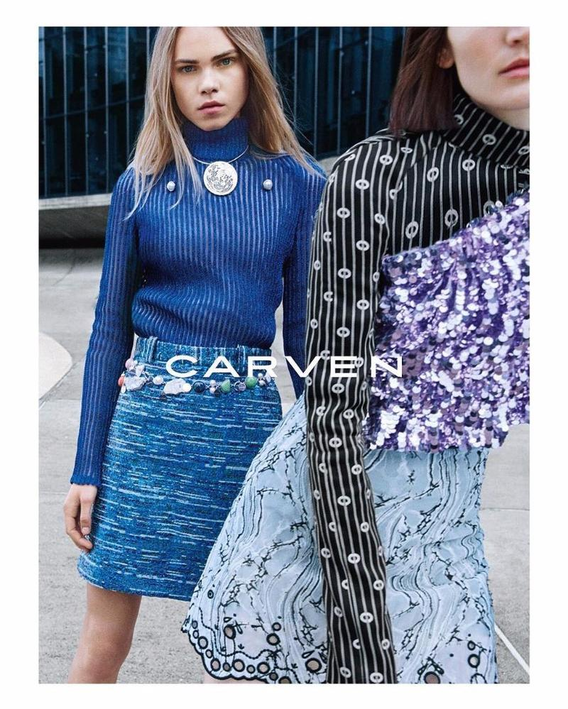 Carven Autumn/Winter 2016 Campaign by Theo Wenner