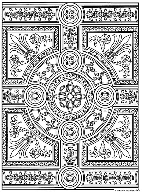 Adult Coloring Pages Patterns With Bcbabebcb