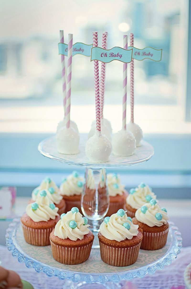 A Balloon Themed Baby Shower Party Ideas Party Printables Blog