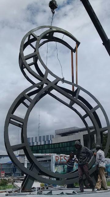 Pembuatan Structure Huruf baja