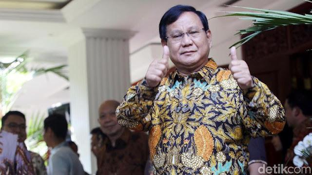 Cawapres Prabowo Sudah Mengerucut Dua Nama