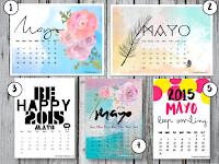 Bienvenido mayo...calendarios gratis. Image