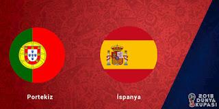 Portekiz Ispanya maci canli