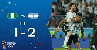Nigeria vs Argentina 1-2 Video Gol Highlights