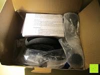 auspacken: as - Schwabe Chip-LED-Akku-Strahler 10 W, geeignet für Außenbereich, Gewerbe, blau, 46971