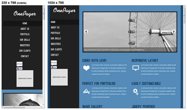 20 ultimate responsive html and css templates